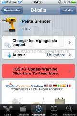 191 160x240 Cydia   Polite Silencer : Couper le vibreur et la sonnerie en un geste [VIDEO]
