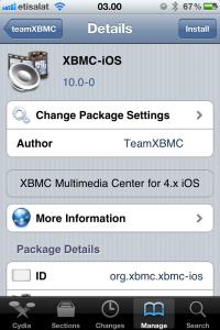 200px Install3 XBMC supporte iOS 6 et sadapte à liPhone 5