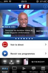 226 160x240 AppStore   Lapplication officielle de TF1 est disponible