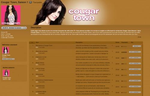 25 500x321 News   iTunes : 12 Jours de cadeaux : Un épisode de cougar town offert