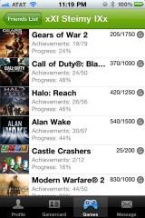 319 160x240 AppStore   360 Live : Lapplication pour Xbox mise à jour en version 2.3.3