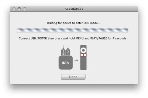 6 500x333 Tutoriel – Seas0nPass : Jailbreak de L'Apple TV 2G iOS 4.2.1 (4.1.1)