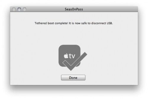 7 500x333 Tutoriel – Seas0nPass : Jailbreak de L'Apple TV 2G iOS 4.2.1 (4.1.1)