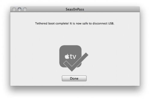 7 500x333 Tutoriel – Seas0nPass : Jailbreak de L'Apple TV 2G iOS 4.2.1 (4.1.1)