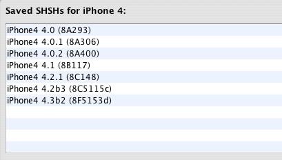 Capture d'écran 2011 01 21 à 23.28.59 News   TinyUmbrella 4.21.04 : Sauvegarder votre SHSH 4.3b2 [EDIT]