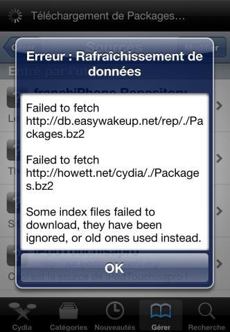 Capture d'écran 2011 01 22 à 18.10.13 Cydia   CyFix : Supprimer les erreurs sur Cydia [CRACK]