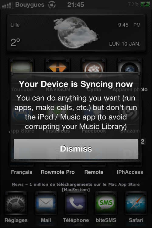 IMG 0071 500x750 Cydia   FreeSync : Utiliser son iDevice pendant une synchronisation [CRACK]