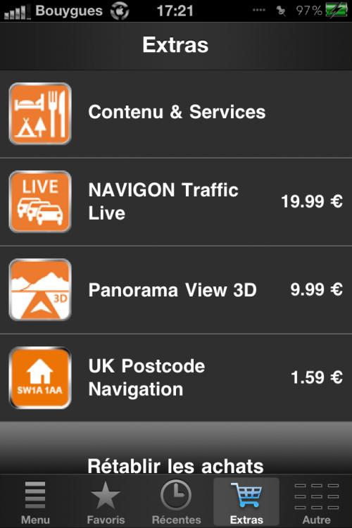 IMG 0088 500x750 Tutoriel   NAVIGON: Installer Panorama view 3D gratuitement !