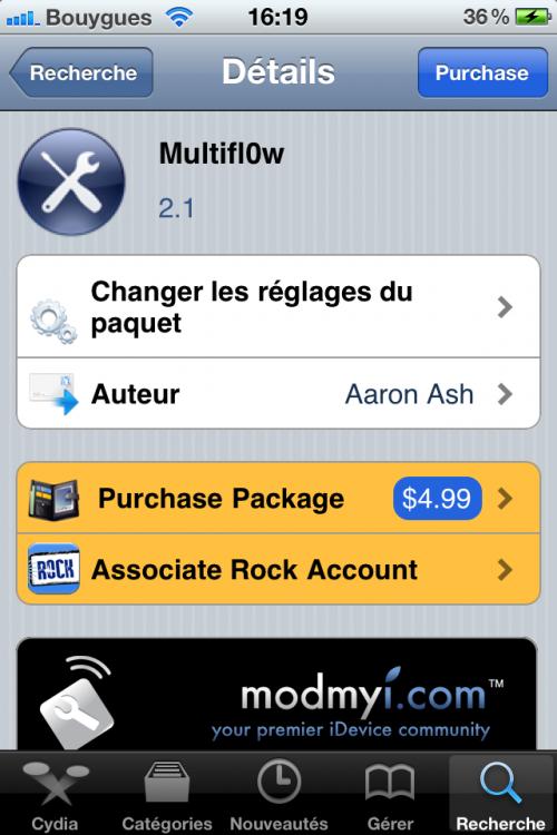 IMG 0111 500x750 Cydia   Multifl0w 2.1 : Ajout de leffet cards façon Proswitcher