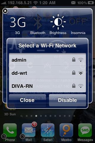 IMG 0243 Cydia   YFiSelect4 : Changer rapidement de réseau Wifi [EDIT]
