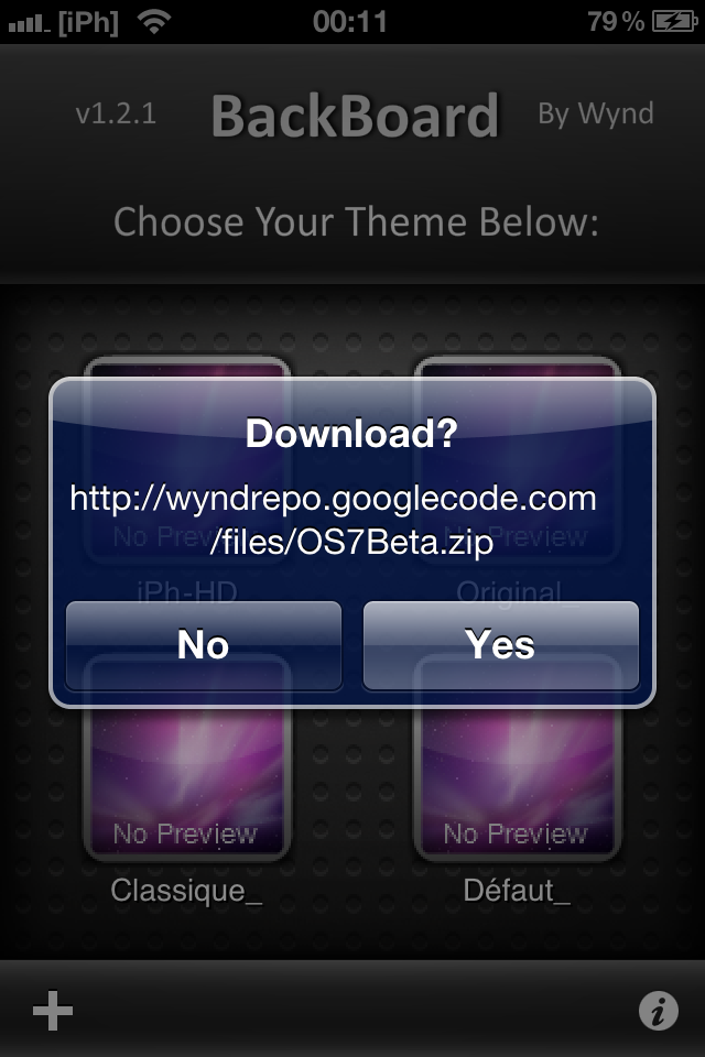 IMG 0262 Tutoriel   Installez le thème Windows Phone 7 sur votre iPhone