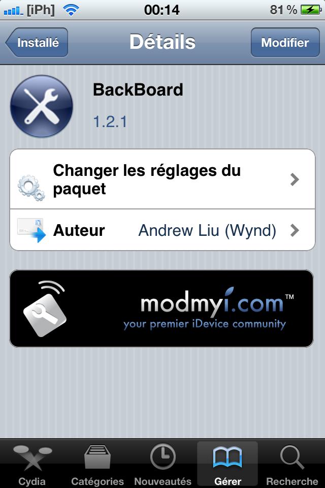 IMG 0264 Tutoriel   Installez le thème Windows Phone 7 sur votre iPhone