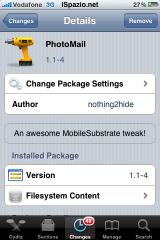 IMG 1426 160x240 Cydia   PhotoMail : Ajoutez rapidement des photos dans vos Mails