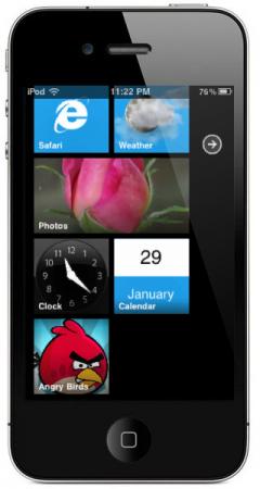 OS73 240x450 Tutoriel   Installez le thème Windows Phone 7 sur votre iPhone