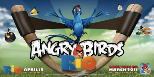 andryrio 500x252 Jeux – Angry Birds Rio : Voici le trailer !