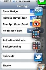 dock3 160x240 Cydia   Dock : Le Dock de Mac OS X sur iPhone