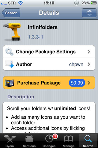 foldinfini Cydia   Baisse des prix pour InfiniFolders et InfiniBoard