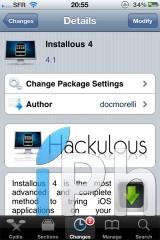 installous4.11 160x240 Cydia   Installous passe en version 4.4.2