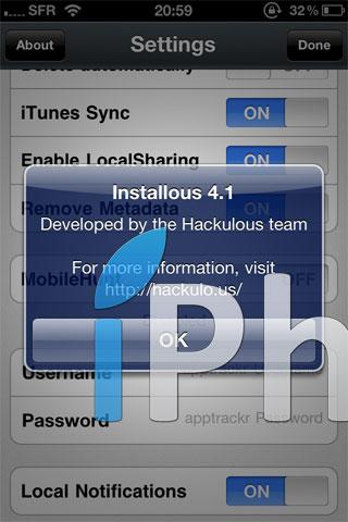 installous4.14 Cydia   Installous passe en version 4.1