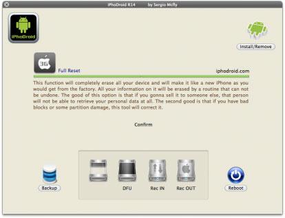 ipho News   iPhoDroid r14 bientôt disponible