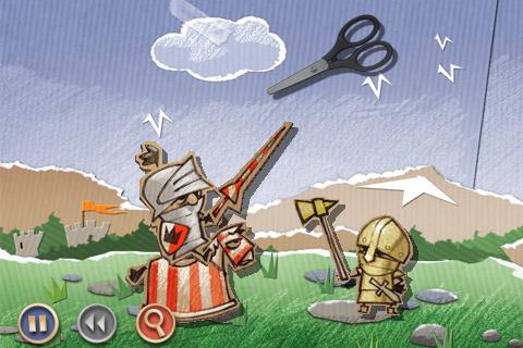 CBC 006 iphone Test Jeux   Cardboard Castle : Une nouvelle façon de vous creuser la tête !