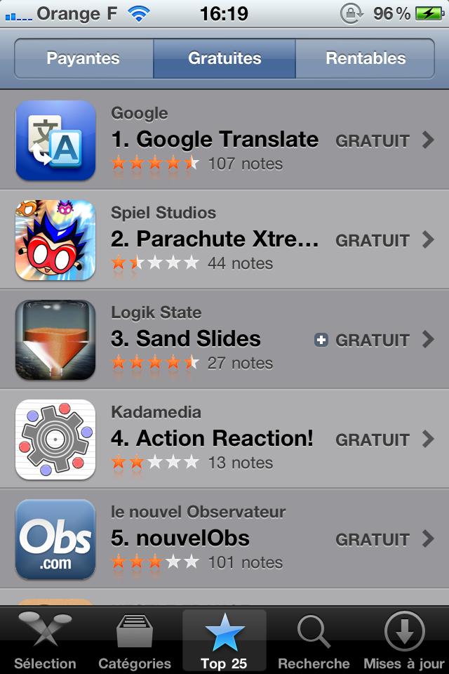 IMG 0228 App Store   Deux petits changements graphiques