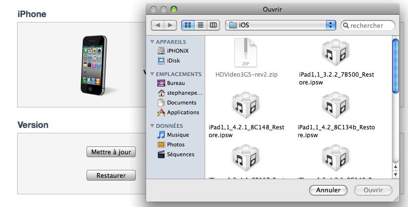 Image 62 Tutoriel   PwnageTool 4.2 : comment créer un firmware customisé sur MAC