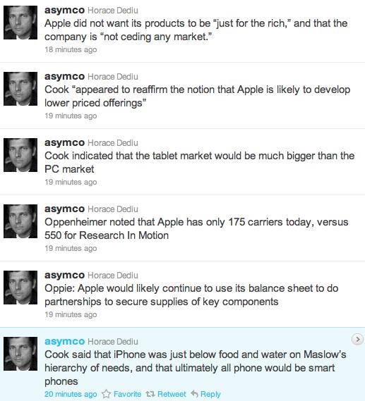 Screen Shot 2011 02 28 at 11.53.01 AM News   Tim Cook sur un iPhone bon marché : Nous ne voulons pas être seulement pour les riches !
