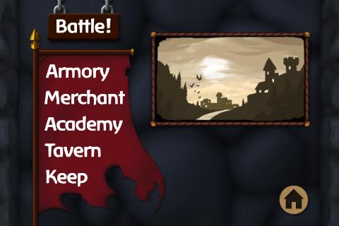 Screenshot taken at 10 14 on février 1 2011 Test Jeux   Battleheart : Un jeu addictif de stratégie en temps réel !