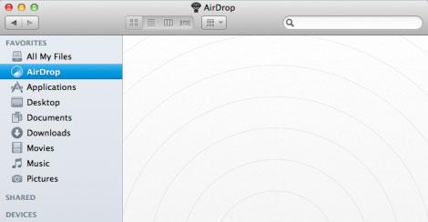 airdrop1 News   Et si AirDrop arrivait sur iOS ?
