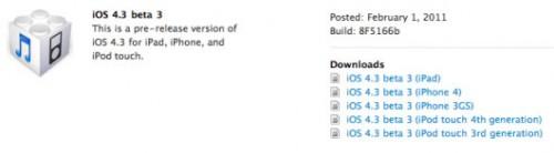 beta3 500x138 News   LiOS 4.3 beta 3 disponible au téléchargement
