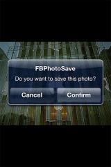 fbphotosave1 Cydia   FBPhotoSave passe en version 1.1