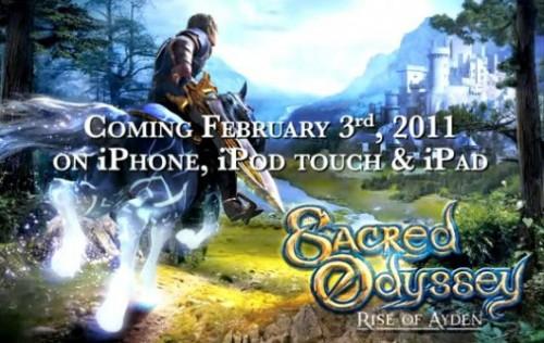 game 500x316 Jeux   Gameloft publie un nouveau trailer : Sacred Odyssey: Rise of Ayden
