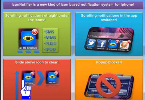 iconnotifier Cydia   IconNotifier : Un nouveau système de notifications PUSH