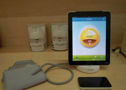 ihealth5 Insolite   iHealth : La pression artérielle directement sur votre iPhone