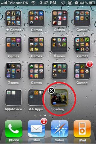 ios4.3 News   iOS 4.3 : Supprimer des applications en cours de téléchargements