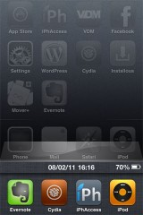 multistask 160x240 Cydia   Multitasking Time : la barre de statut dans le dock multitâche