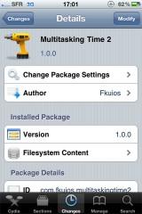 multitask1 160x240 Cydia   Multitasking Time : la barre de statut dans le dock multitâche