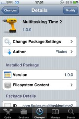 multitask1 160x240 Cydia   Multitasking Time : la barre de statut dans le dock multitâche