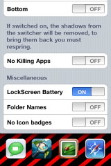 myswticher3 Cydia   MySwitcher : Personnalisez totalement la barre multitâche