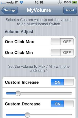 myvolume2 Cydia   MyVolume : Gérez de façon avancée le volume de votre appareil [Dispo sur la repo]