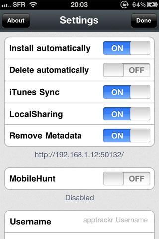 nstall Cydia   Installous passe en version 4.2