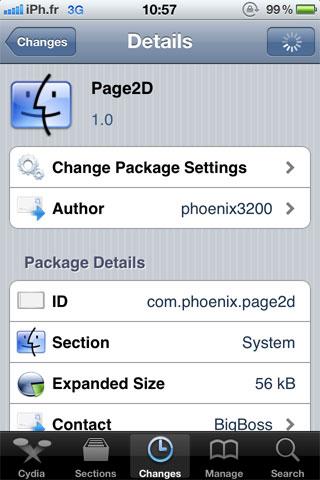 page2D Cydia   Page2D disponible sur le Cydia Store [Dispo sur la repo]