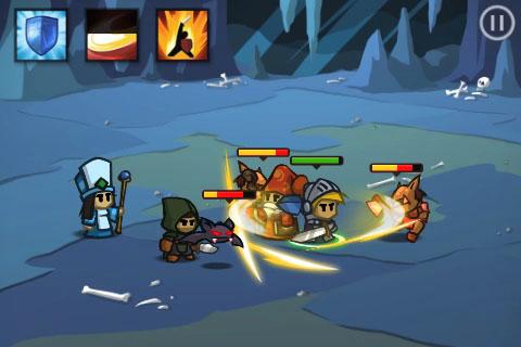 screen1 Test Jeux   Battleheart : Un jeu addictif de stratégie en temps réel !