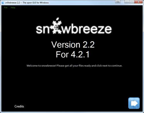 snow4 Jailbreak News   Sn0wBreeze passe en version 2.2.1
