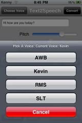 text3 160x240 Cydia   Text2Speech : Faites parlez votre iPhone