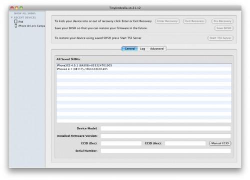 umbrellabeta 500x359 News   TinyUmbrella en version 4.21.12 beta