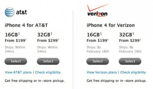 verizon2 500x292 News   LiPhone 4 Verizon est disponible