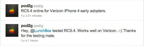 verizonJB 500x160 Jailbreak News   Nouvelle version de GreenPois0n pour les iPhones 4 Verizon bientôt disponible