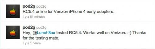 verizonJB 500x160 Jailbreak News   Nouvelle version de GreenPois0n pour les iPhones 4 Verizon bientôt disponible